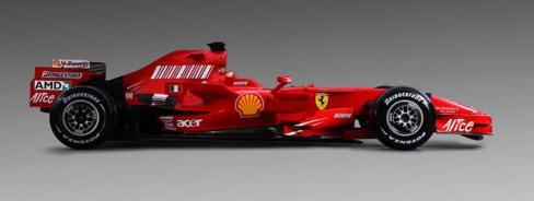 Nuevo Ferrari. Vistalateral